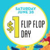 Annual Old Navy $1 Flip Flop Sale, This Saturday 6/28