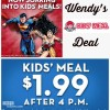 Wendy's Kids Meal Deal