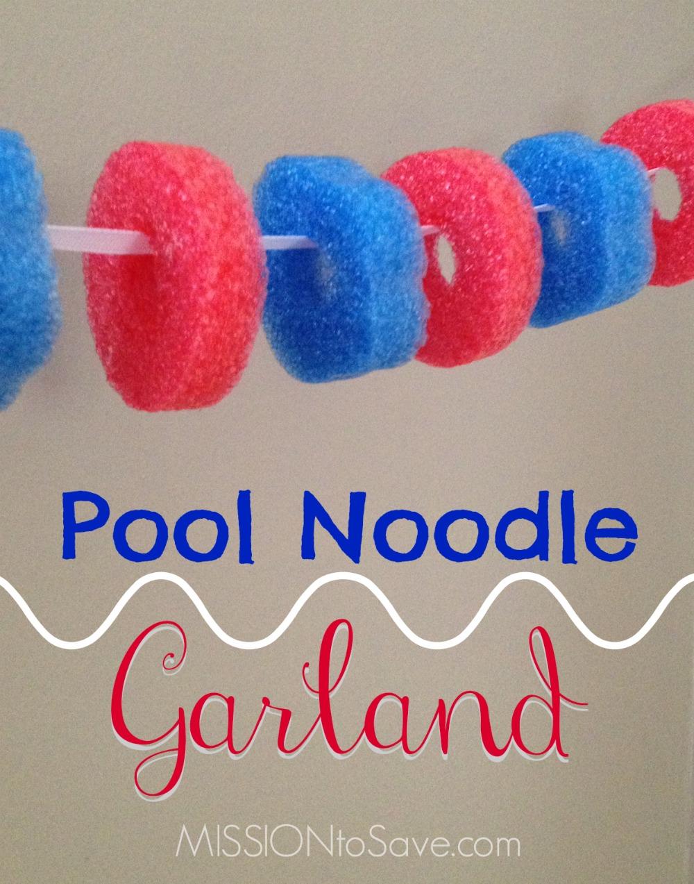 Pool Noodle Decoration Ideas