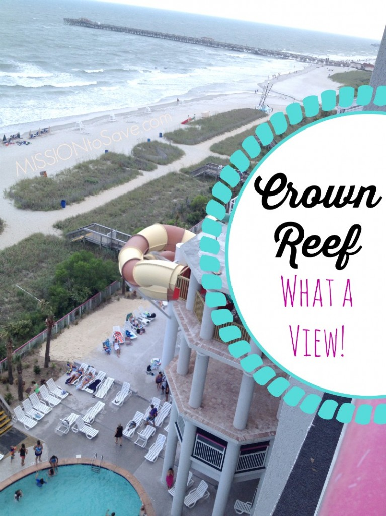 Crown Reef Balcony View