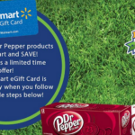 Walmart Gift Card Offers on Bacon, Dr. Pepper and Quaker Products