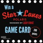 Polaris Star Lanes Summer Games Promo + Game Card Giveaway!