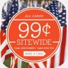Cardstore $0.99 Memorial Day Sale!