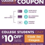 Big Lots Coupon on College Discount Day, Saturday 8/16