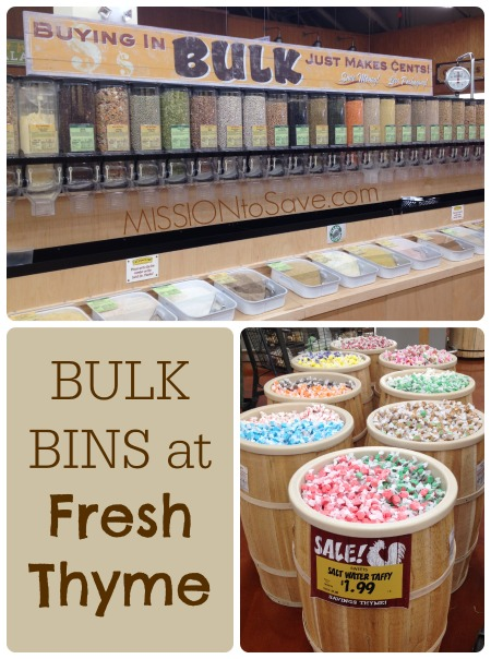 Bulk Bins at Fresh Thyme