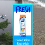 Fresh New Coconut Water Body Wash from Dial + Giveaway!