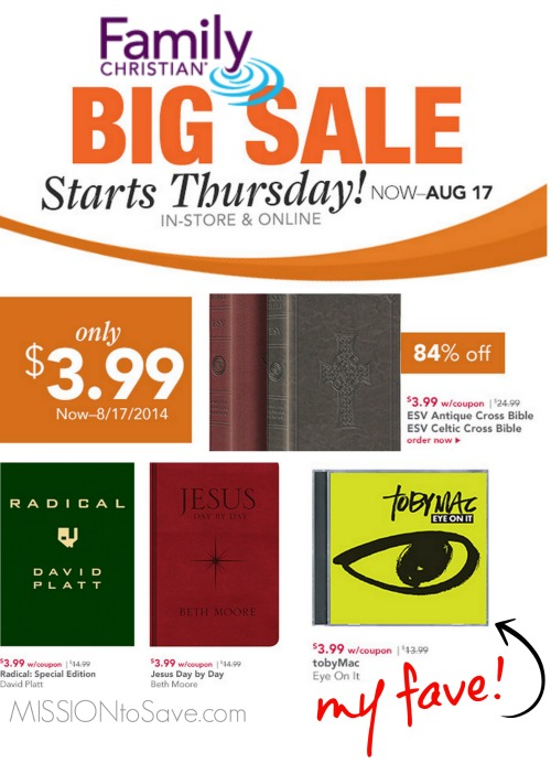 Family christian stores 399 sale bibles tobymac beth moore and family christian stores sale popular items just 399 think christmas fandeluxe Image collections