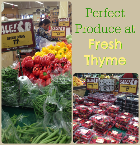 Produce at Fresh Thyme