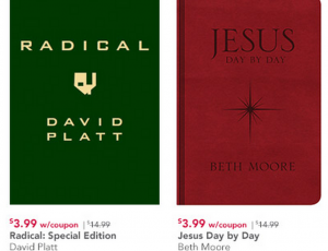 Family christian stores 399 sale bibles tobymac beth moore and radical by david platt for 399 fandeluxe Image collections