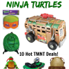 Teenage Mutant Ninja Turtles Deals on Amazon! #TMNT Turtle Power!