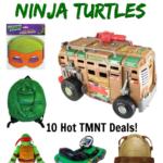 Teenage Mutant Ninja Turtles Deals on Amazon! #TMNT Turtle Power!