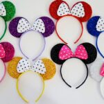 Personalized Superhero Bags and Glittering Mickey Mouse Ear Headbands