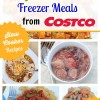 20 Gluten Free Freezer Meals from Costco for Just $150! Buy the meal plan today!