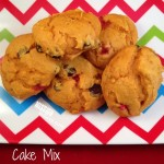 Cake Mix Pumpkin Cookies Recipe- Easy, Soft, 2 Points!