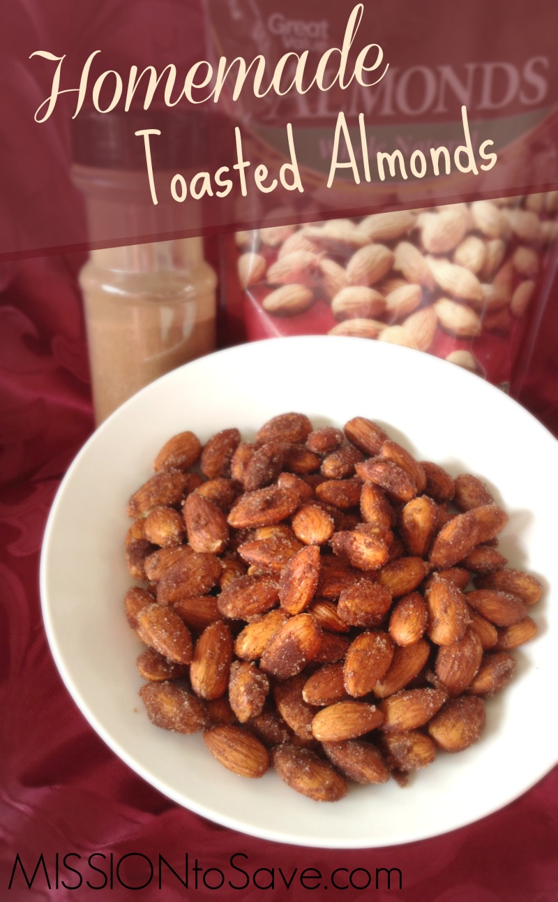 Homemade Toasted Almonds