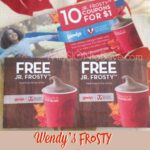 Wendy's Frosty Coupons Booklet- $1 for 10 Free Jr. Frostys