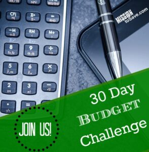#30DayBudgetBootcamp
