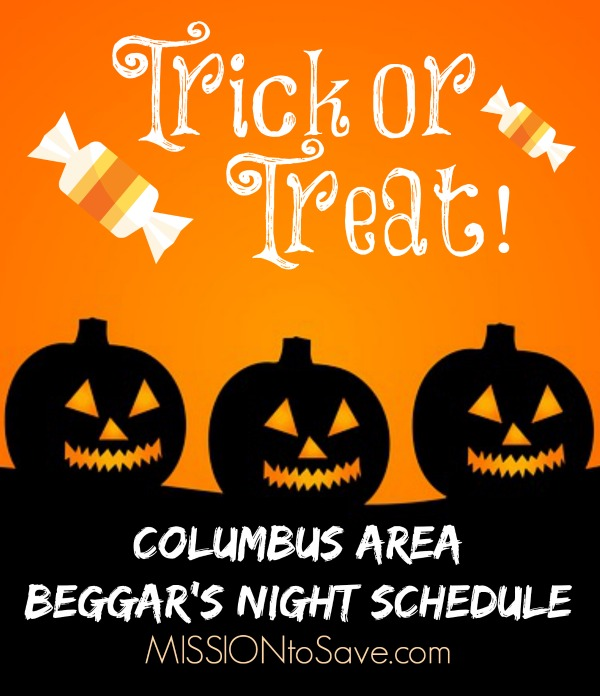 Central Ohio peeps. Check out the Columbus Trick or Treat Schedule for this Halloween!