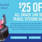 Graco Car Seat Rebate- Get $25 Back