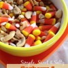 Simple Sweet and Salty Fall Snack: Cashews and Candy Corn!