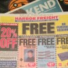 Pick up these Harbor Freight Freebies!