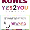 New Kohl's Yes2You Rewards Program