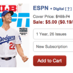 $5 Magazine Sale- Popular Titles Like ESPN, Better Homes & Gardens and More!