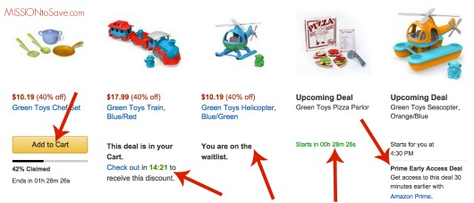 Tips for claiming Amazon lightning deals