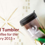 Free Starbucks in January with Tumbler Purchase Now