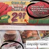 Fresh Thyme low ground beef price