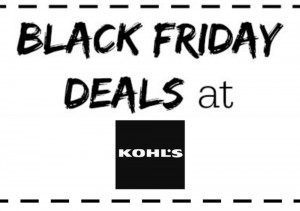 The best Kohl's Black Friday deals!