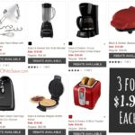 3 Black and Decker Small Appliances for $1.99 each with Kohl's Black Friday Deal