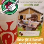 Operation Christmas Child and Chick-fil-A on Sawmill