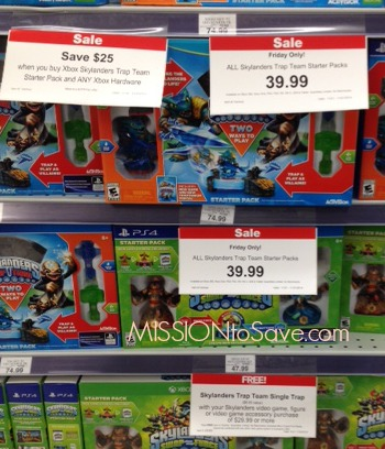 ToysRUs Skylanders Trap Team Deal