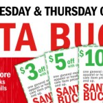 Meijer Santa Bucks Coupons 12/10 – 12/11 (Great To Save More on BOGO Toys)