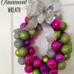 Easy DIY Ornament Wreath (No Hot Glue Gun Required!)