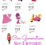 Up to 50% off Our Generation Dolls and Accessories at Target (Fit American Girl Dolls!)