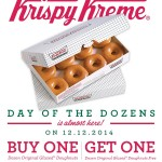 Krispy Kreme BOGO Day of the Dozens Coupon
