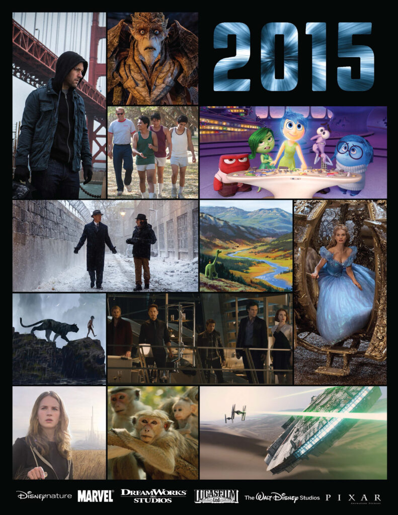 Check out the 2015 Disney Movies Preview list for a lineup of this year's big screen entertainment. More Marvel, Magic and Monkeys! (not to mention Star Wars too!)