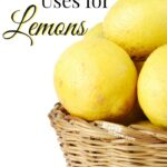 When life gives you lemons... you find Alternative Uses for Lemons! Thrifty and Frugal thinking!