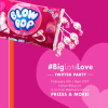 Big Lots Twitter Party Valentines