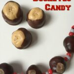 Peanut Butter and Chocolate Buckeyes Candy Recipe #goBucks!