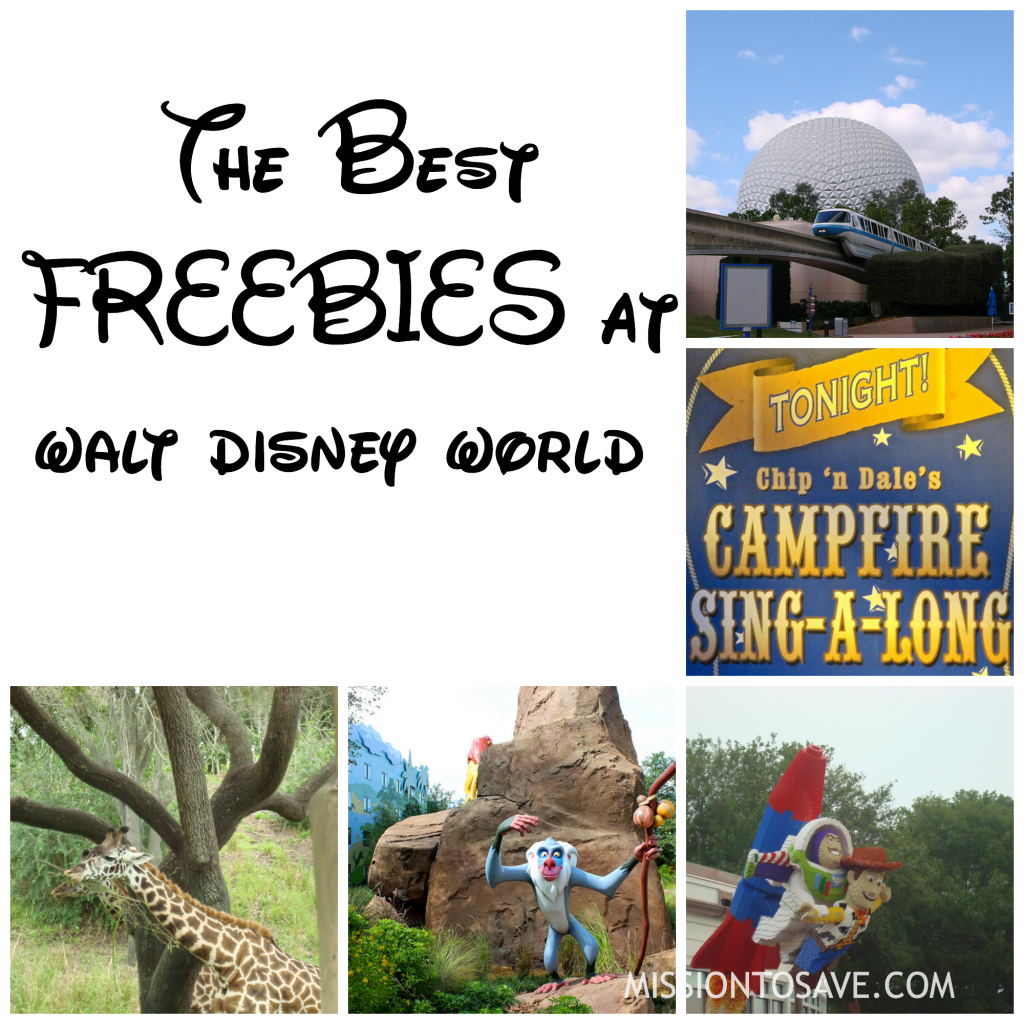 Best freebies at disney world