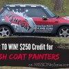 Enter to Win Fresh Coat Credit