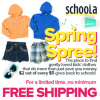 Schoola Free Credit and Free Shipping!