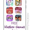 free hasbro games apps
