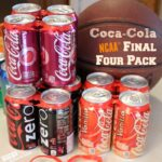 Coca-Cola NCAA® Final Four Pack a Slam Dunk for Parties + DIY Tabletop Basketball Game (Using Recycled Materials)