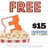 See how to score a Free Fandango Gift Card