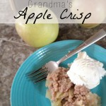 Grandma's Apple Crisp Recipe