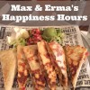 Max & Erma's Happiness Hours Specials and GIVEAWAY!